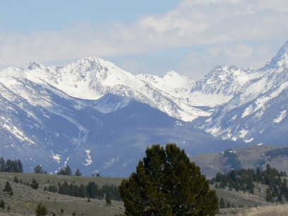 Absaroka Mountains, Montana